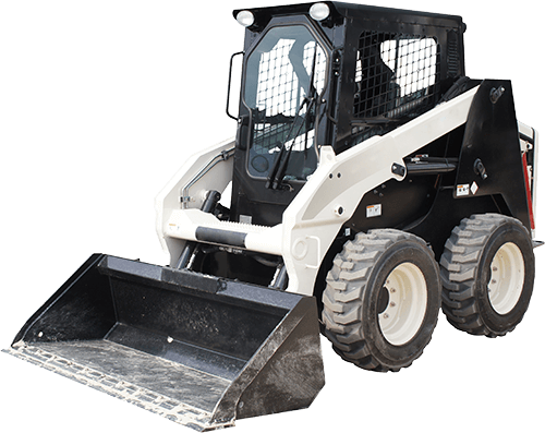 Our skid-steers are great for snow removal and small demolition.