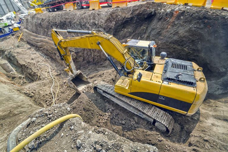 We offer basement and other types of excavation services.