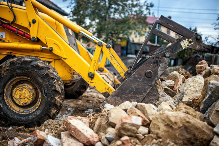 Serbu offers complete and partial demolition services for business sites, homes and garages.