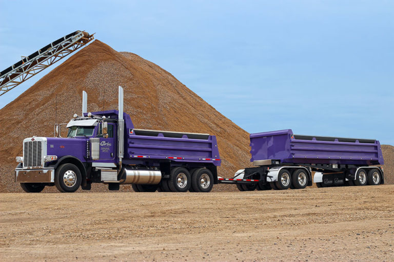 We have construction supply and aggregate products including sand, gravel, crushed stone, top soil and mixes.