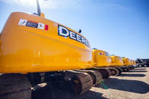 John Deere Excavator 200D LC Fleet - Rear Shot