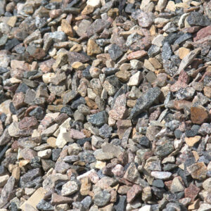 20mm crushed rocks, also known as fractured stones.