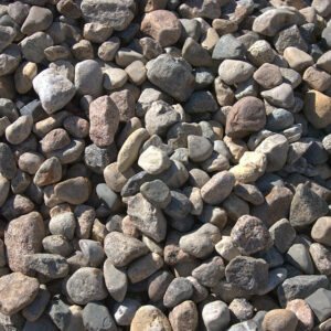 40mm round rocks, also known as large stones.