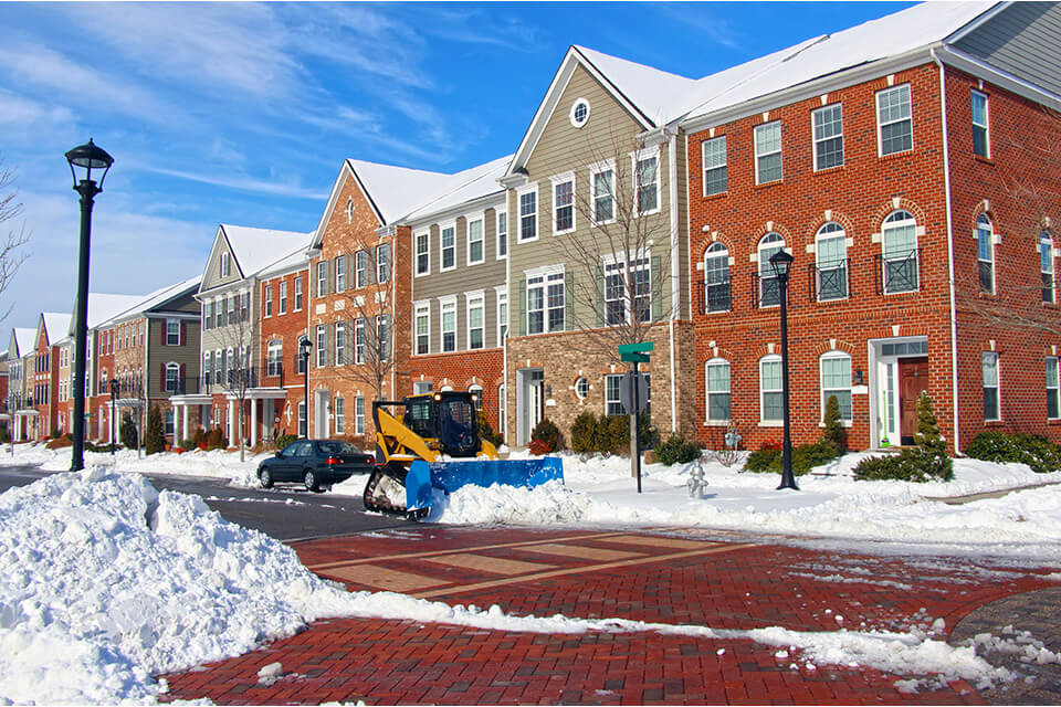 Removing snow protects your property and pays for itself in the long run.