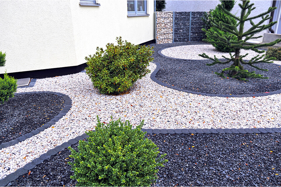 Xeriscaping doesn't mean eliminating all plants or lawn area.