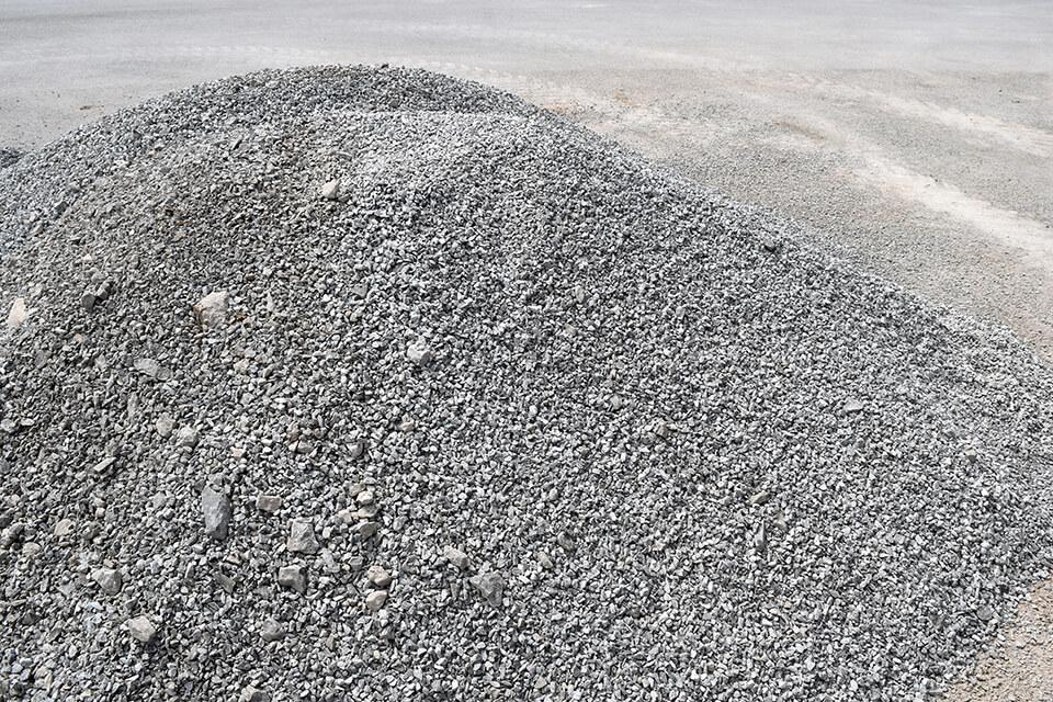 Radon rock is a mix of rocks 10-30mm in size.