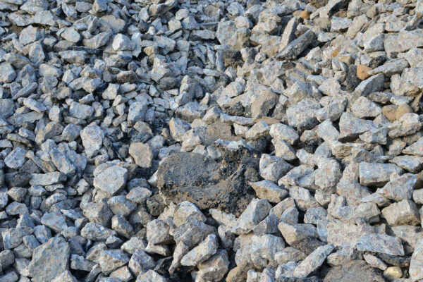 Reclaimed Asphalt product (RAP) image, also known as recycled asphalt.